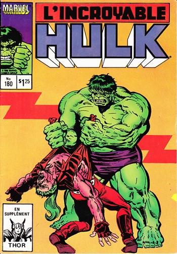 Couverture de L'incroyable Hulk (Éditions Héritage) -180- La lune de miel est terminée !!