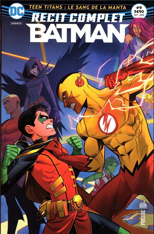 Couverture de Batman - Récit Complet (DC Presse) -9- Teen titans: le sang de la manta
