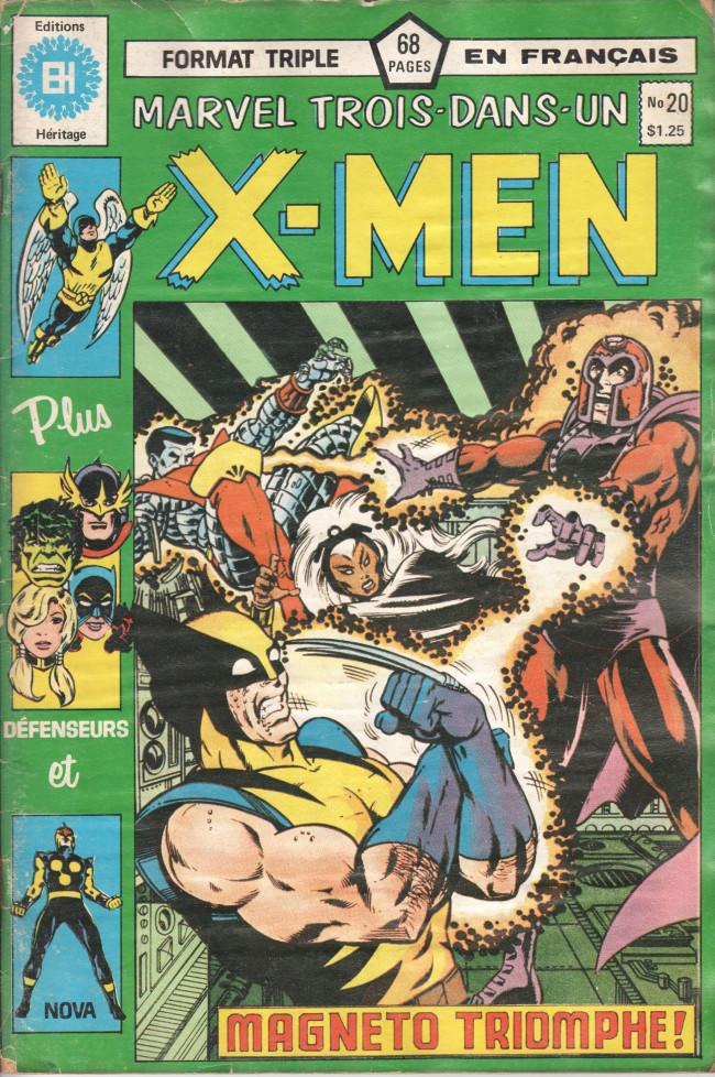 Couverture de X-Men (Éditions Héritage) -20- Le triomphe de Magnéto