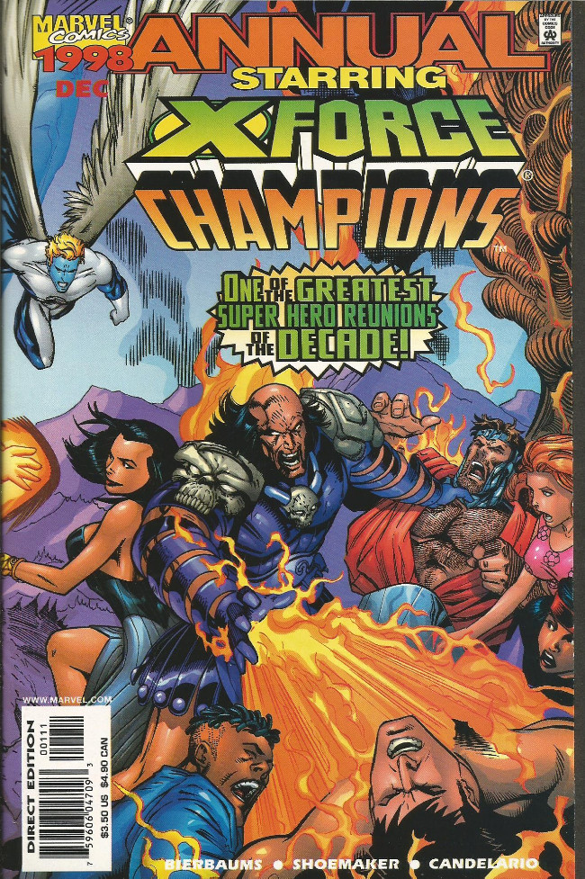 Couverture de X-Force Vol.1 (Marvel comics - 1991) - Demon from within