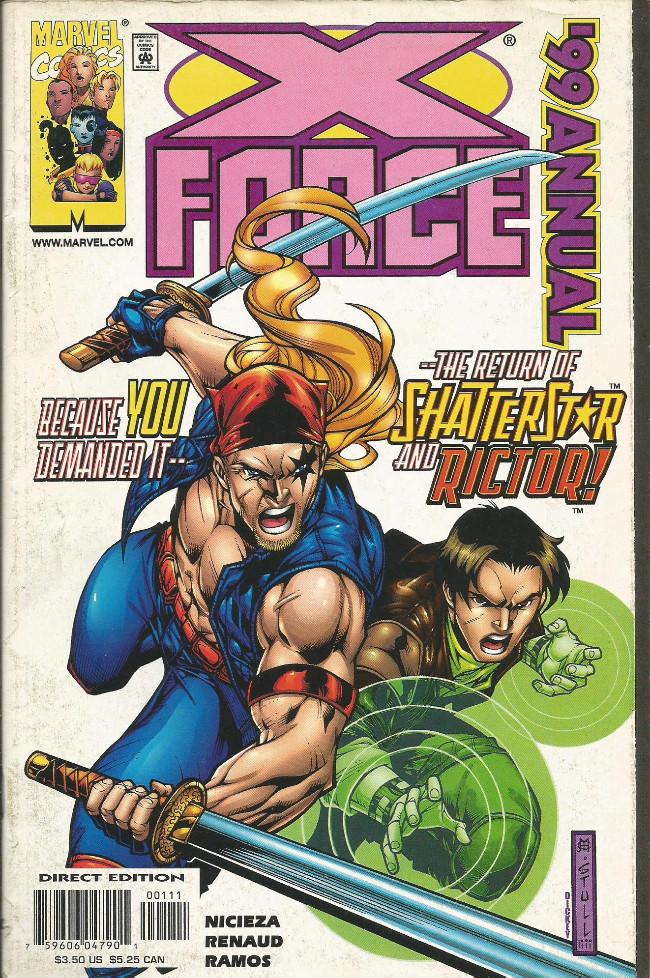 Couverture de X-Force Vol.1 (Marvel comics - 1991) - Loose ends