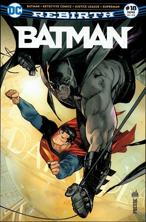 Couverture de Batman Rebirth (DC Presse) -18- Tome 18