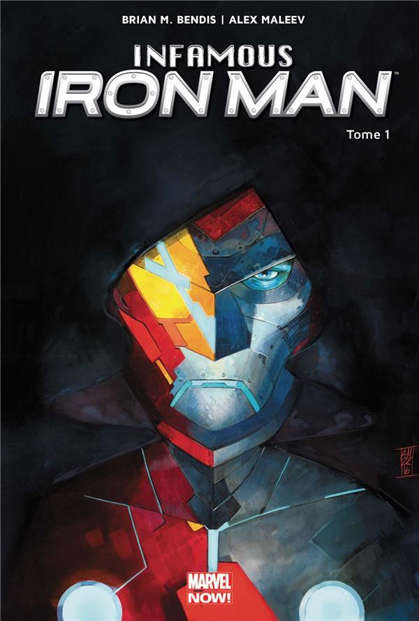 Couverture de Infamous Iron Man -1- Rédemption