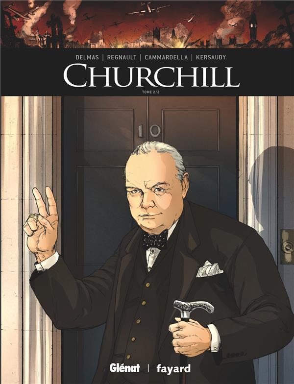 Couverture de Ils ont fait l'Histoire -29- Churchill - Tome 2/2