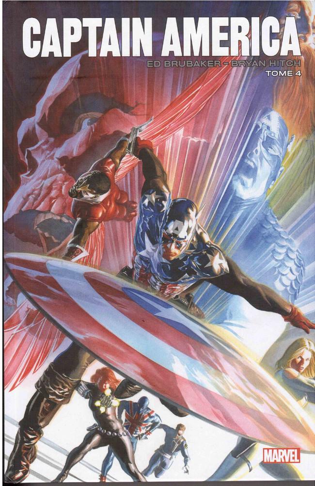 Couverture de Captain America (Marvel Icons) -4- Tome 4