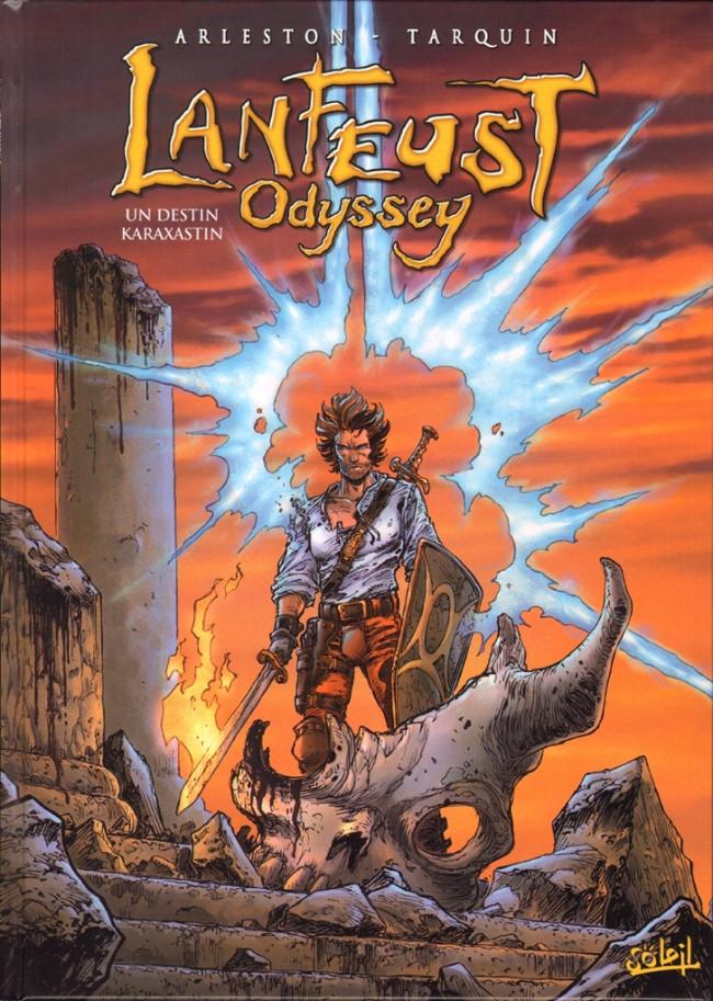 Couverture de Lanfeust Odyssey -10- Un destin karaxastin