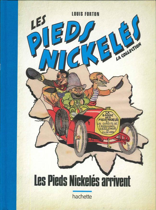 Couverture de Les pieds Nickelés - La collection (Hachette) (2e série) -3bis- Les Pieds Nickelés arrivent