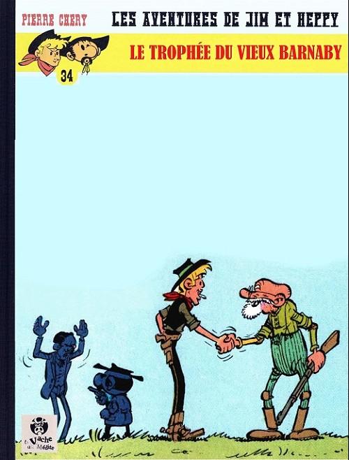 Couverture de Jim L'astucieux (Les aventures de) - Jim Aydumien -34- Le tropée du vieux barnaby