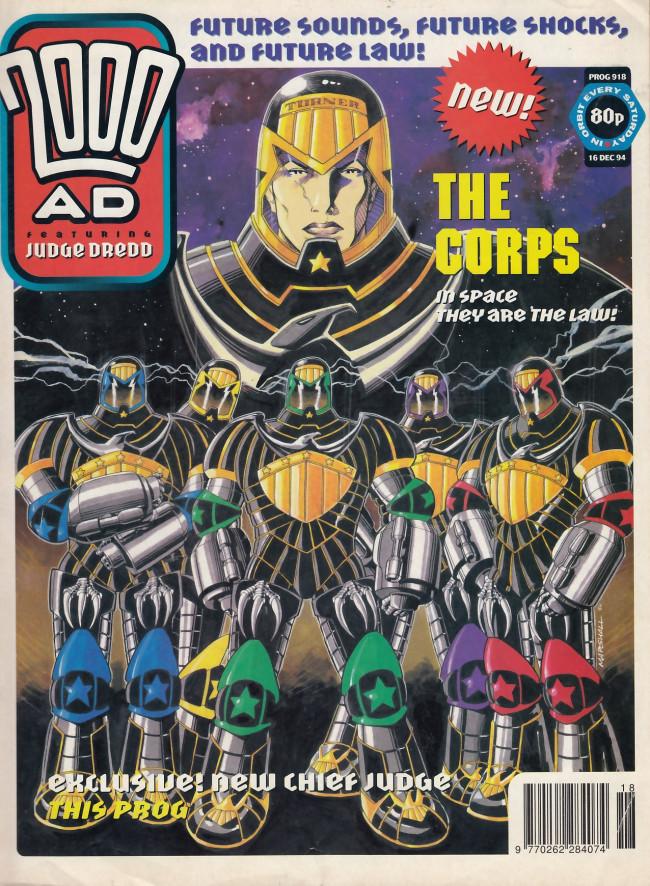 Couverture de 2000 AD (1977) -918- 2000 AD #918