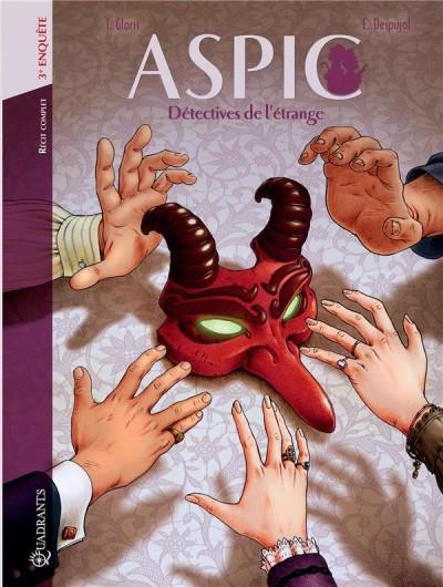 Couverture de Aspic, détectives de l'étrange -INT03- 3e enquête