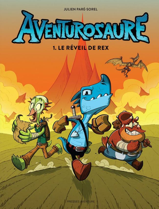 Couverture de Aventurosaure -1- Le réveil de Rex
