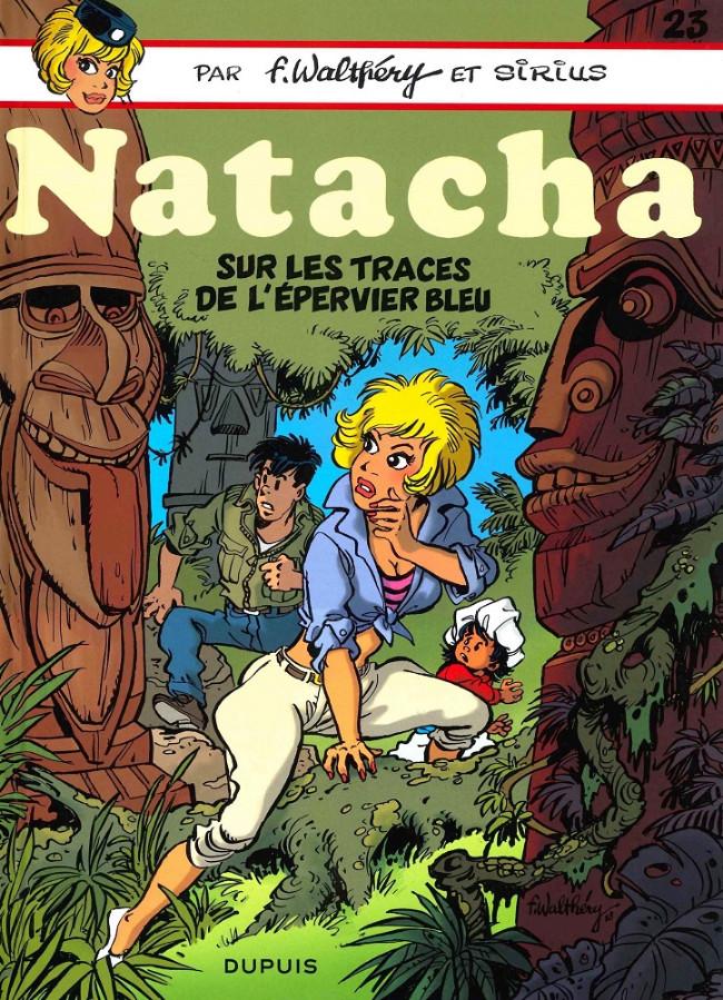 Couverture de Natacha -23- Sur les traces de l'Épervier Bleu