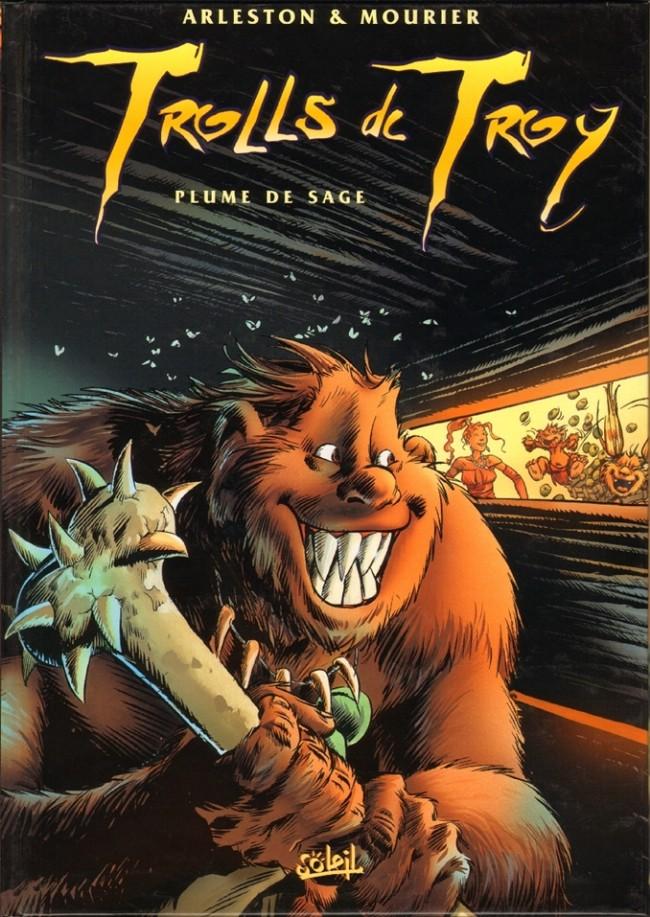 Couverture de Trolls de Troy -7- Plume de sage