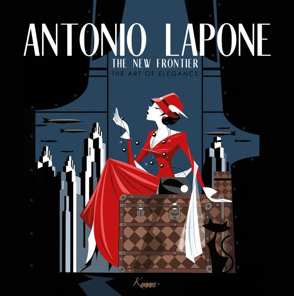 Couverture de (AUT) Lapone - The new frontier: The art of Elegance