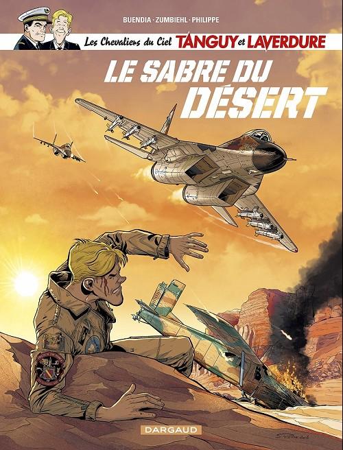 Couverture de Tanguy et Laverdure -32- Le sabre du désert