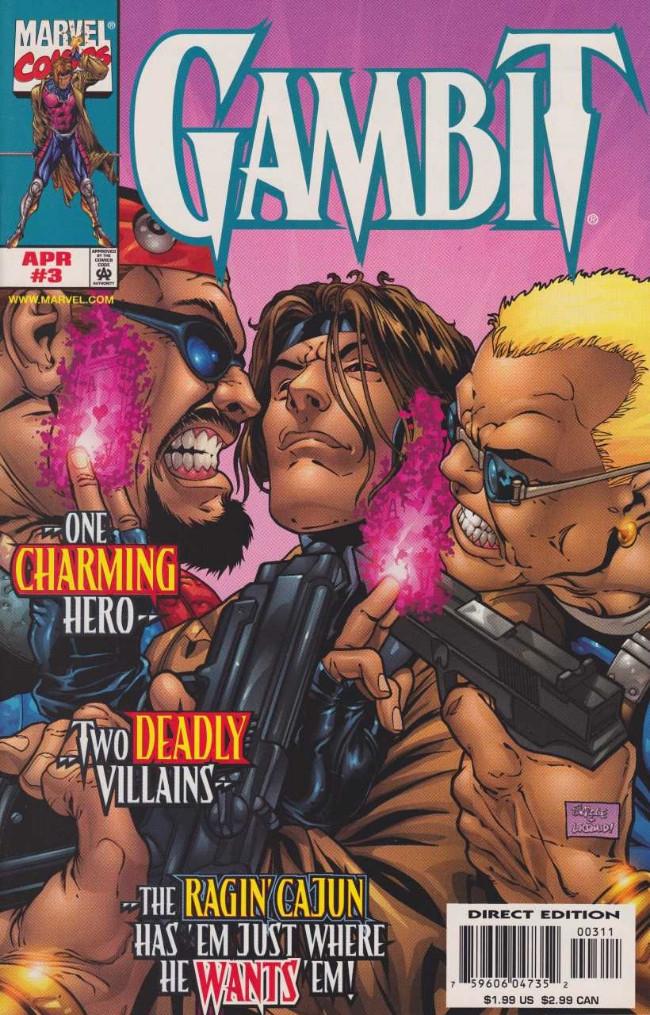Couverture de Gambit (1999) -3- Monsters Like Us