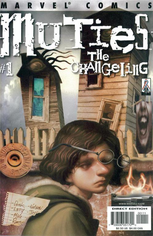 Couverture de Muties (2002) -1- The Changeling