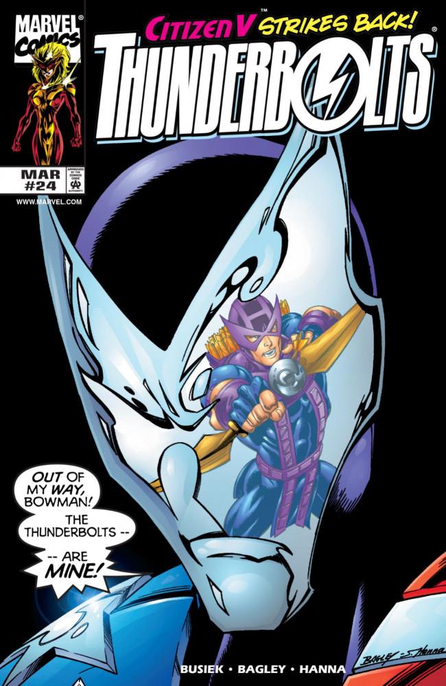 Couverture de Thunderbolts Vol.1 (Marvel Comics - 1997) -24- The Eye of the Storm