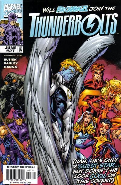 Couverture de Thunderbolts Vol.1 (Marvel Comics - 1997) -27- Flight Plans