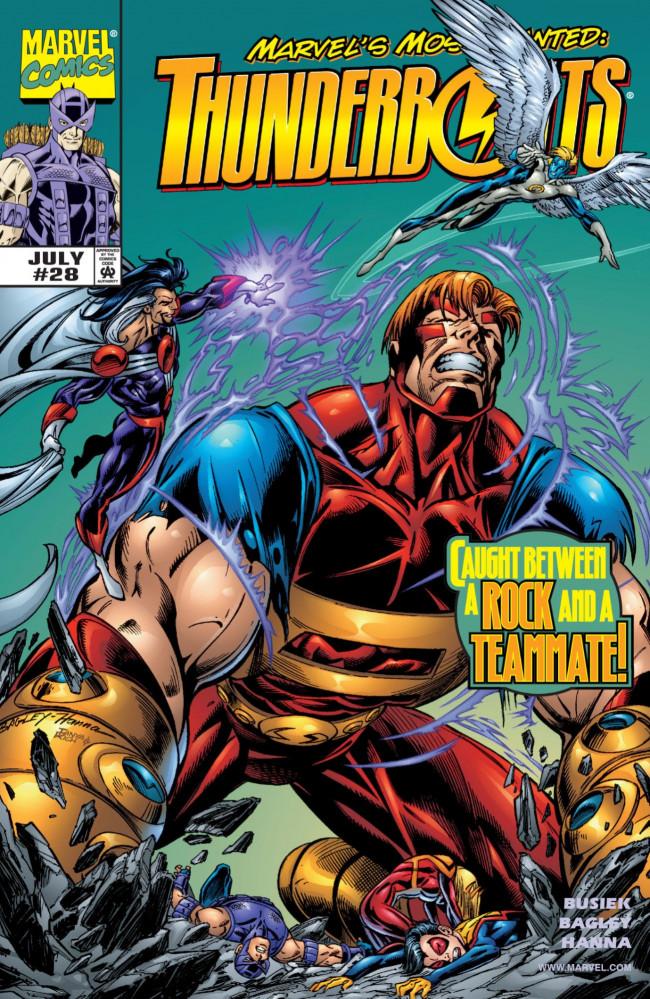 Couverture de Thunderbolts Vol.1 (Marvel Comics - 1997) -28- Castles in the Air
