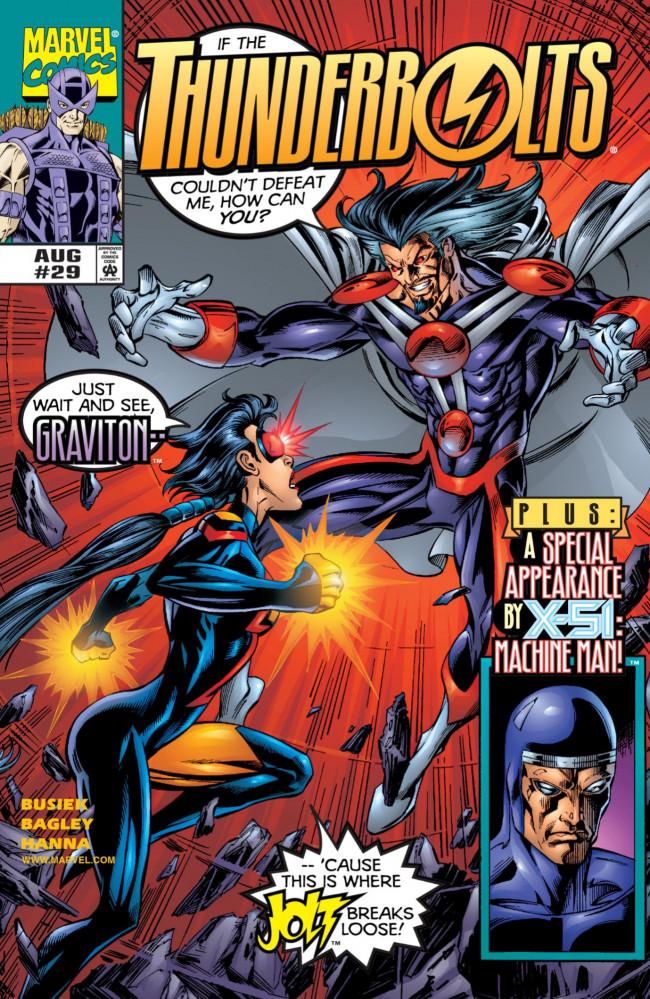 Couverture de Thunderbolts Vol.1 (Marvel Comics - 1997) -29- The Fundamental Force
