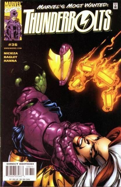 Couverture de Thunderbolts Vol.1 (Marvel Comics - 1997) -36- How is Justice Best Served ?