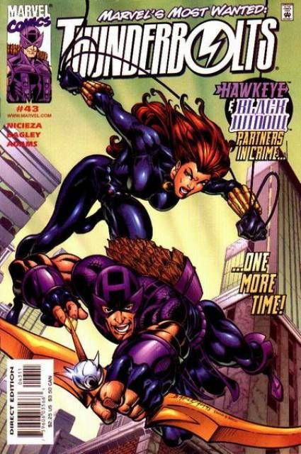 Couverture de Thunderbolts Vol.1 (Marvel Comics - 1997) -43- Chasing Your Own Tail