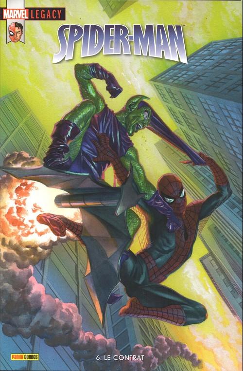 Couverture de Marvel Legacy - Spider-Man (Marvel France - 2018) -6- Le contrat