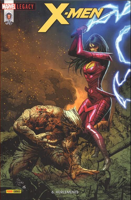 Couverture de Marvel Legacy - X-Men (Marvel France - 2018) -6- Hurlements