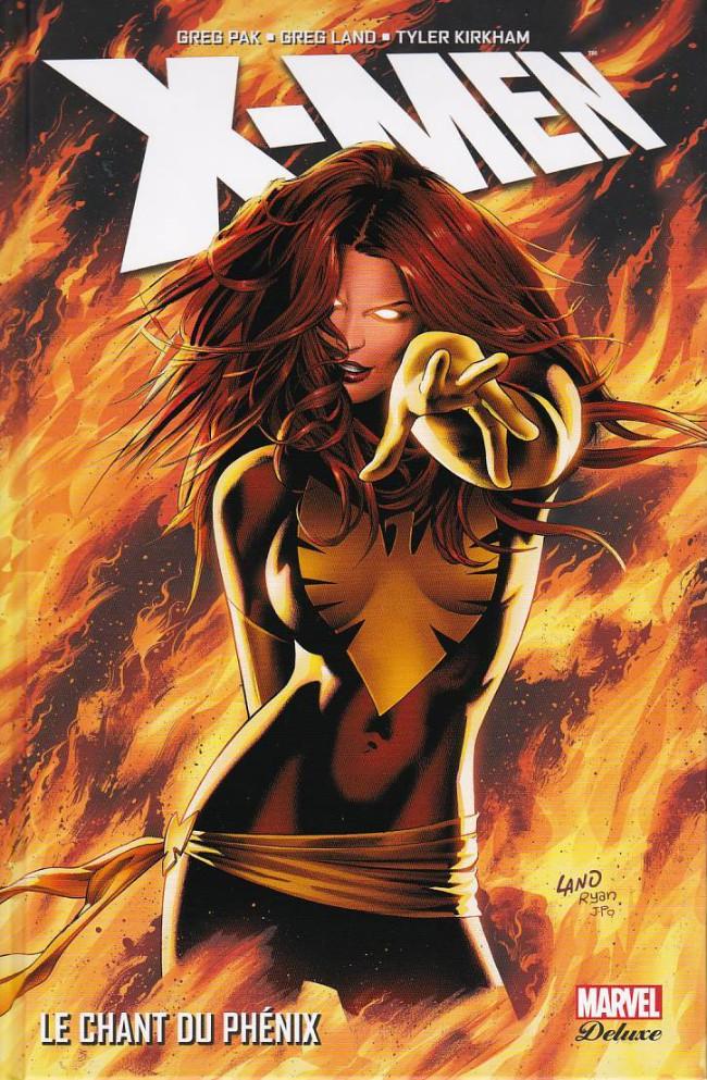 Couverture de X-Men (Marvel Deluxe) - Le chant du Phénix