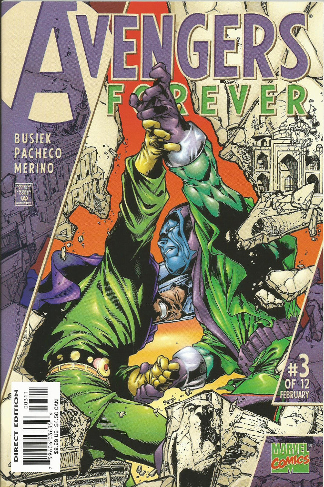 Couverture de Avengers Forever (1998) -3- City at the heart of forever