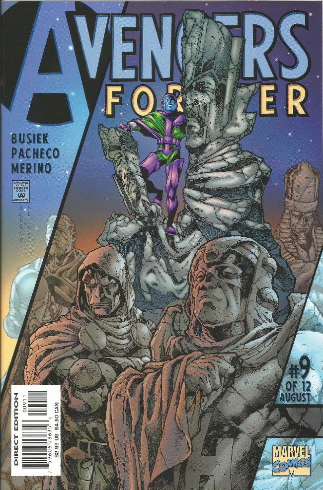 Couverture de Avengers Forever (1998) -9- Break: Reflexions of the conqueror