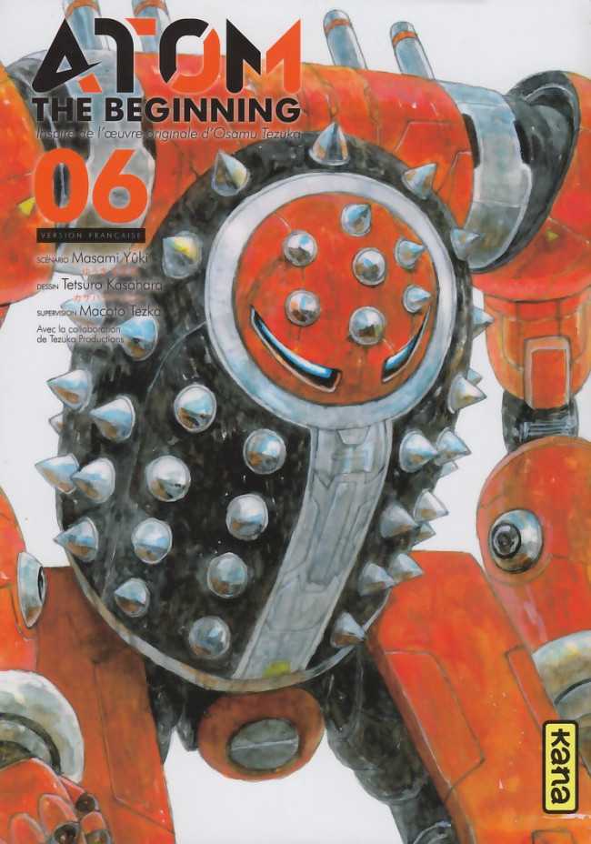 Couverture de Atom The Beginning -6- Volume 6
