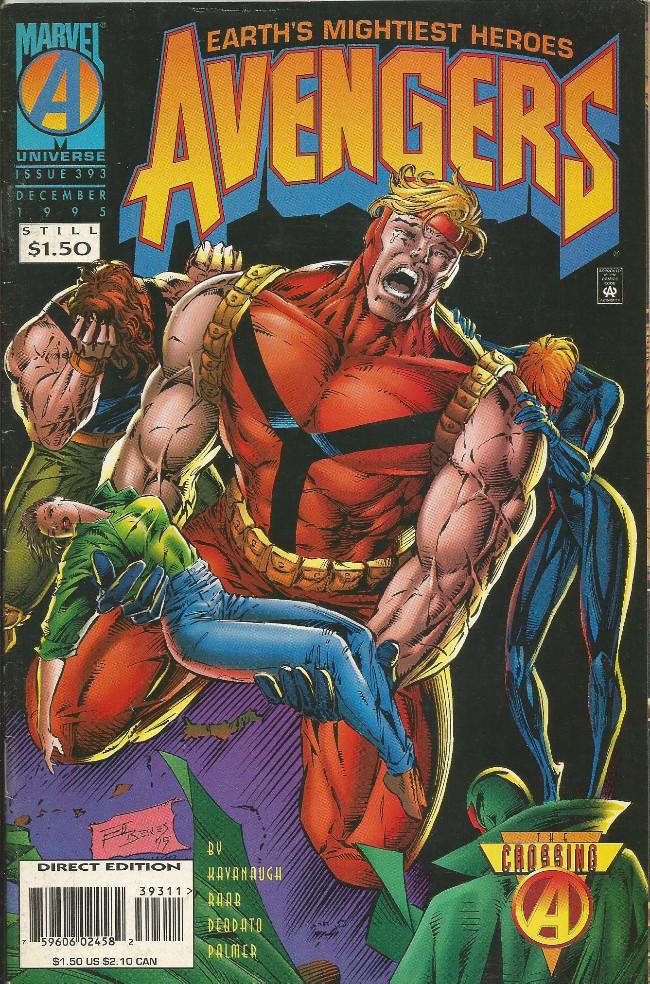 Couverture de Avengers Vol. 1 (Marvel Comics - 1963) -393-