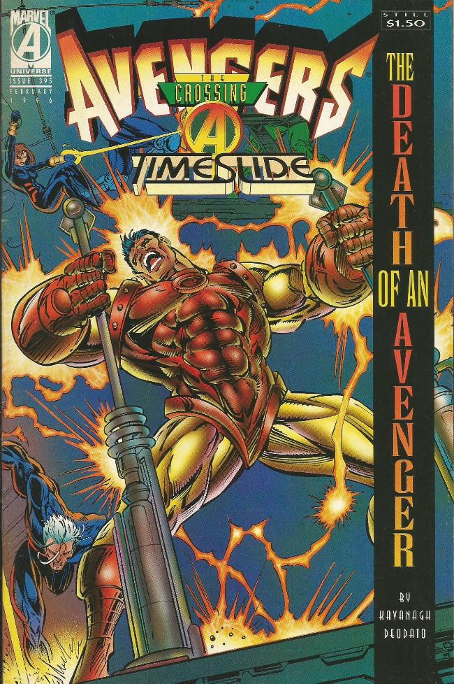Couverture de Avengers Vol. 1 (Marvel Comics - 1963) -395-