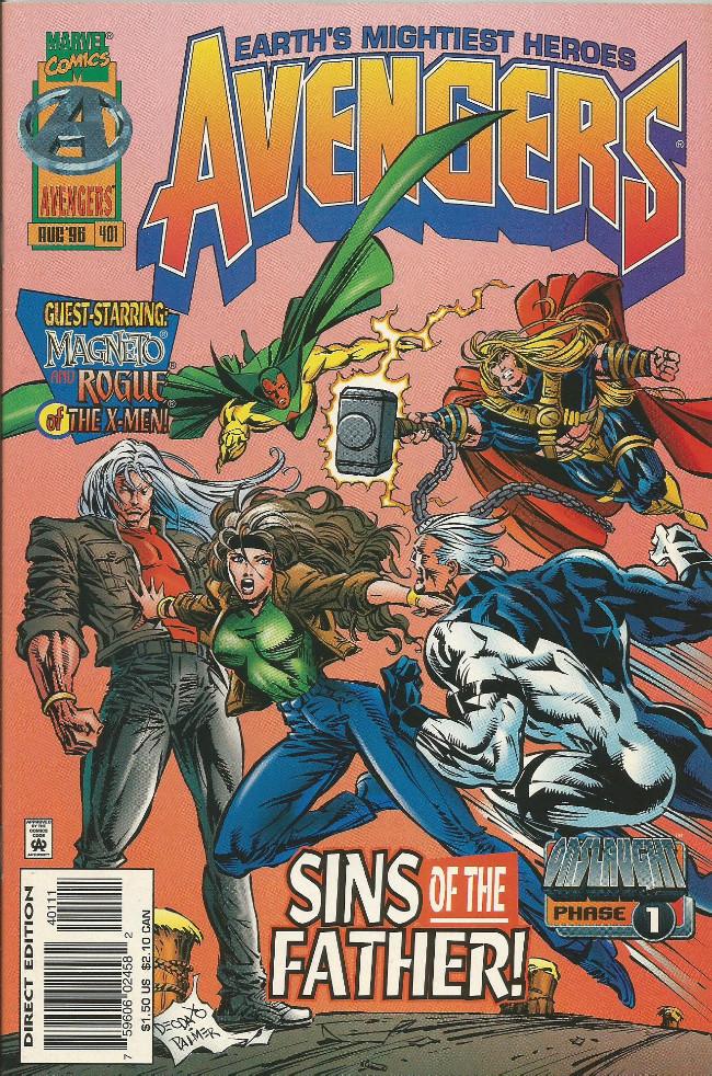 Couverture de Avengers Vol. 1 (Marvel Comics - 1963) -401- Sins of the father !