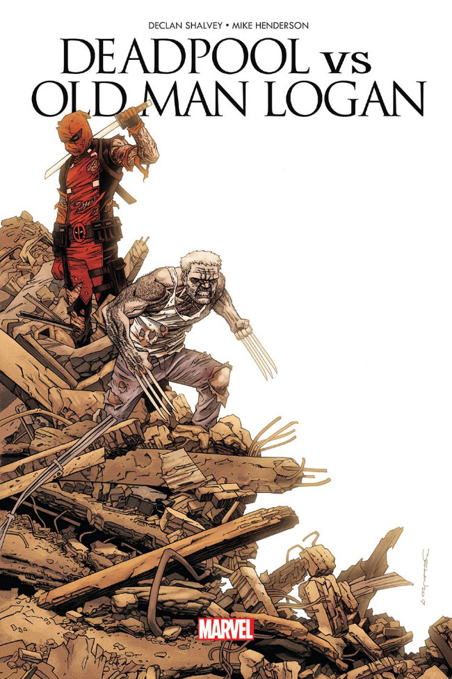 Deadpool vs Old Man Logan