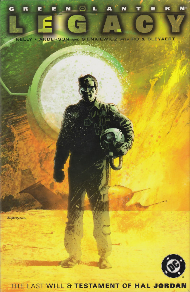 Couverture de Green lantern (1990) - Green Lantern Legacy: The Last Will and Testament of Hal Jordan