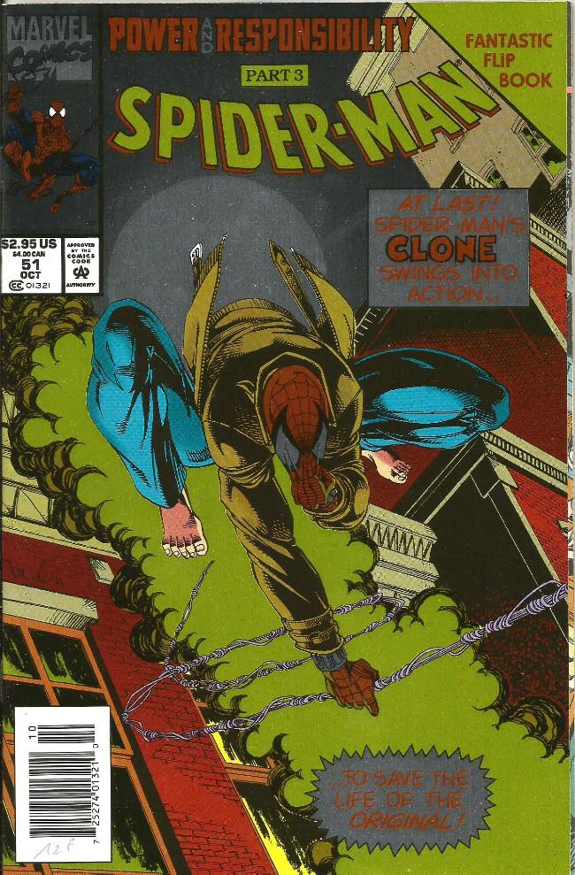 Couverture de Spider-Man (1990) -51- A heart beat away!