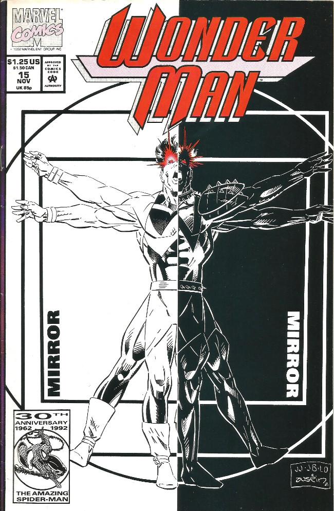 Couverture de Wonder Man (1991) -15- Shadow of the infinite