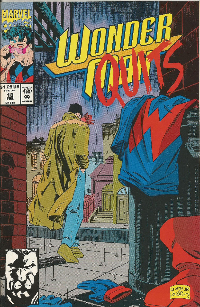 Couverture de Wonder Man (1991) -18- The ashes fall