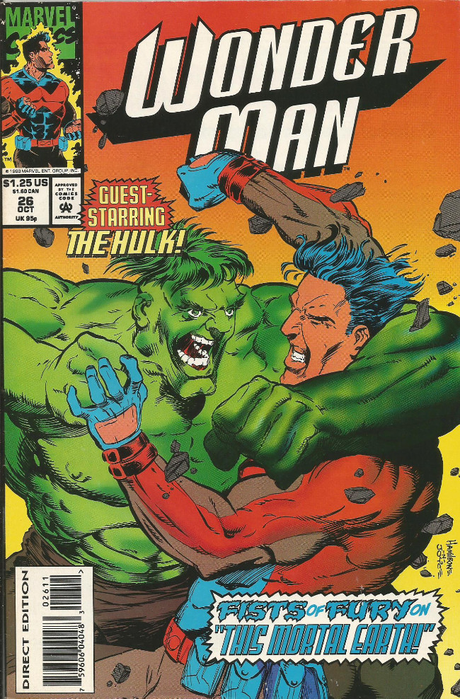 Couverture de Wonder Man (1991) -26- This mortal earth