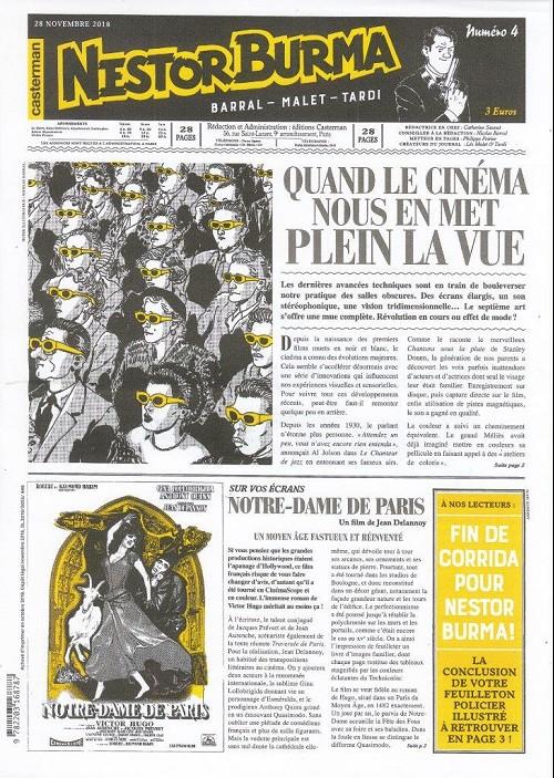 Couverture de Nestor Burma (Feuilleton) -13- Corrida aux Champs Elysées - Numéro 4