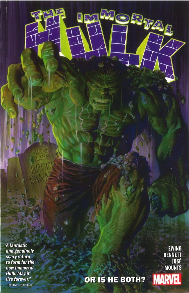 Couverture de Immortal Hulk (The) (2018) -INT01- Or Is He Both?