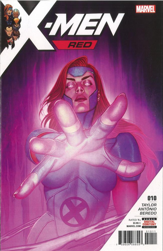 Couverture de X-Men: Red (2018) -10- Part 10: Mutant Nation War