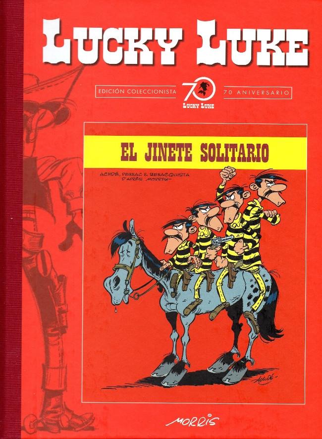 Couverture de Lucky Luke (Edición Coleccionista 70 Aniversario) -97- El jinete solitario