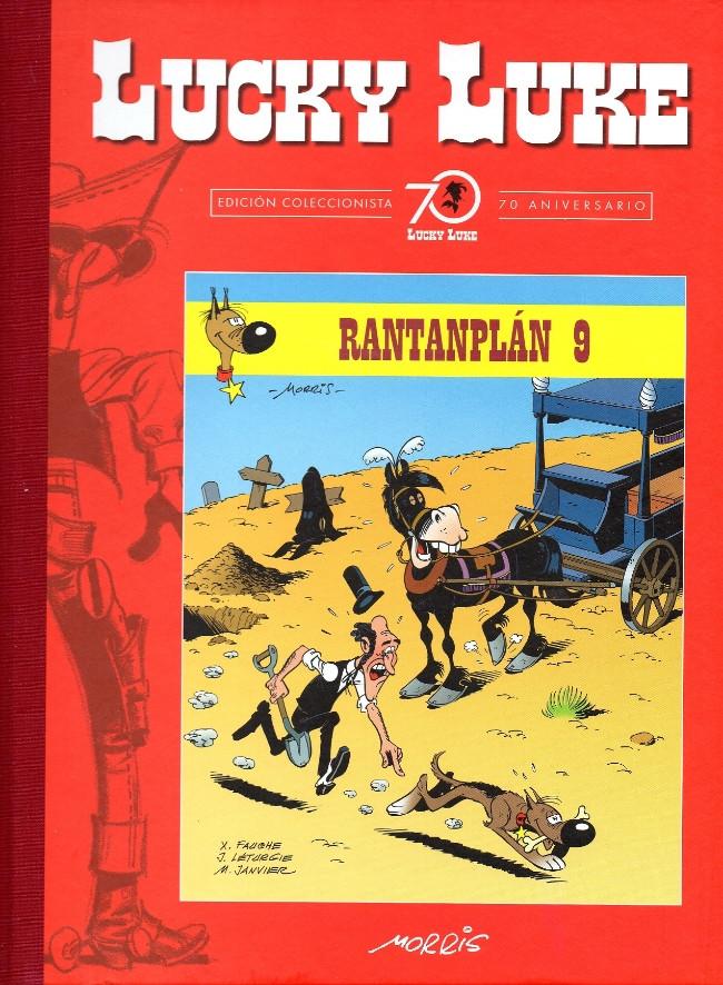 Couverture de Lucky Luke (Edición Coleccionista 70 Aniversario) -98- Rantanplán 9