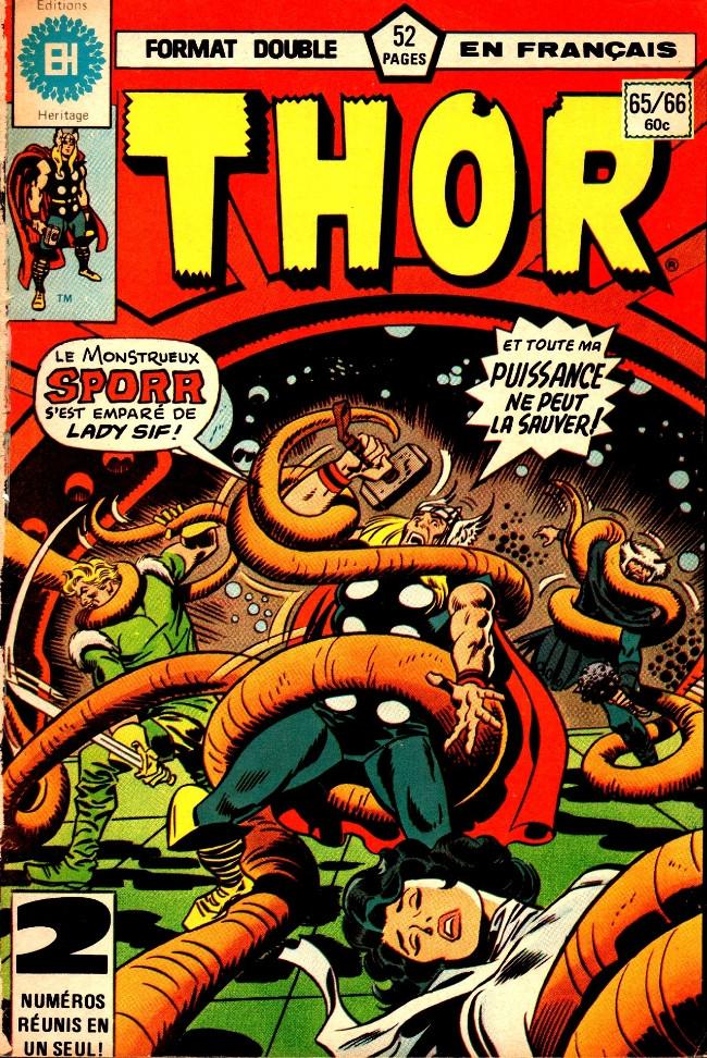Couverture de Thor (Éditions Héritage) -6566- Embusque dans l'obscurité
