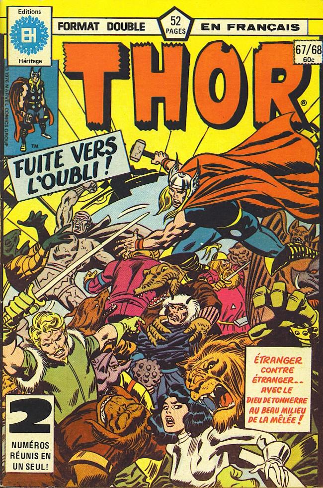 Couverture de Thor (Éditions Héritage) -6768- Si les étoiles sont faites de pierre!