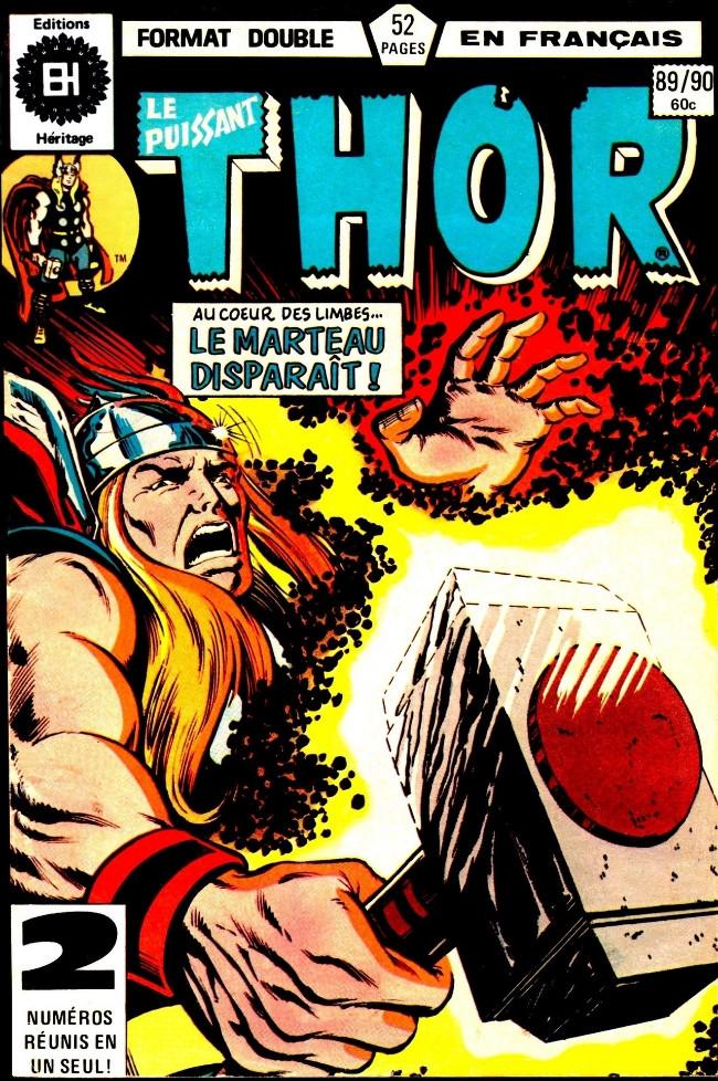 Couverture de Thor (Éditions Héritage) -8990- Crise sur les terres jumelles